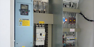 Solitair Services Fitted a Bespoke Chiller Control Panel