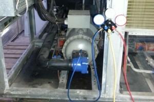 Decommission of the Kobe compressor