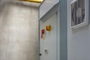 Bespoke control panel installed