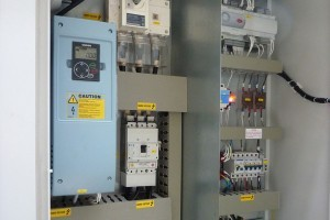 Bespoke control panel – Internally